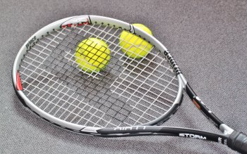 Wallpaper: Sport - Tennis - Balls - Racket