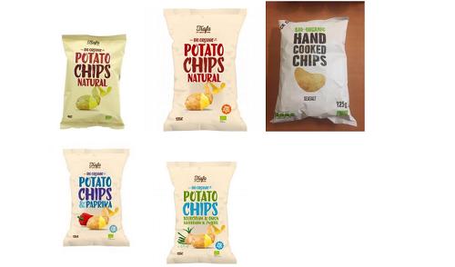 Προσοχή❗ Ο ΕΦΕΤ ανακαλεί από την αγορά πατατάκια — Μην τα καταναλώσετε ➤➕〝📷ΦΩΤΟ〞