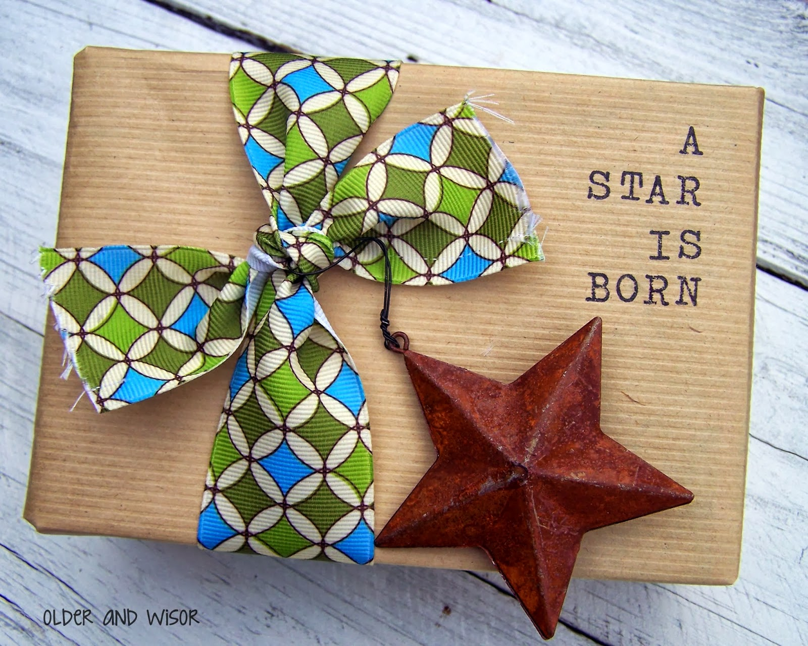 Older And Wisor Baby Shower Gift Wrapping Ideas