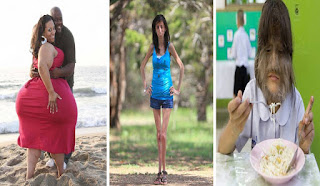 Women Who Broke World's Record With Their Bizarre Appearance
