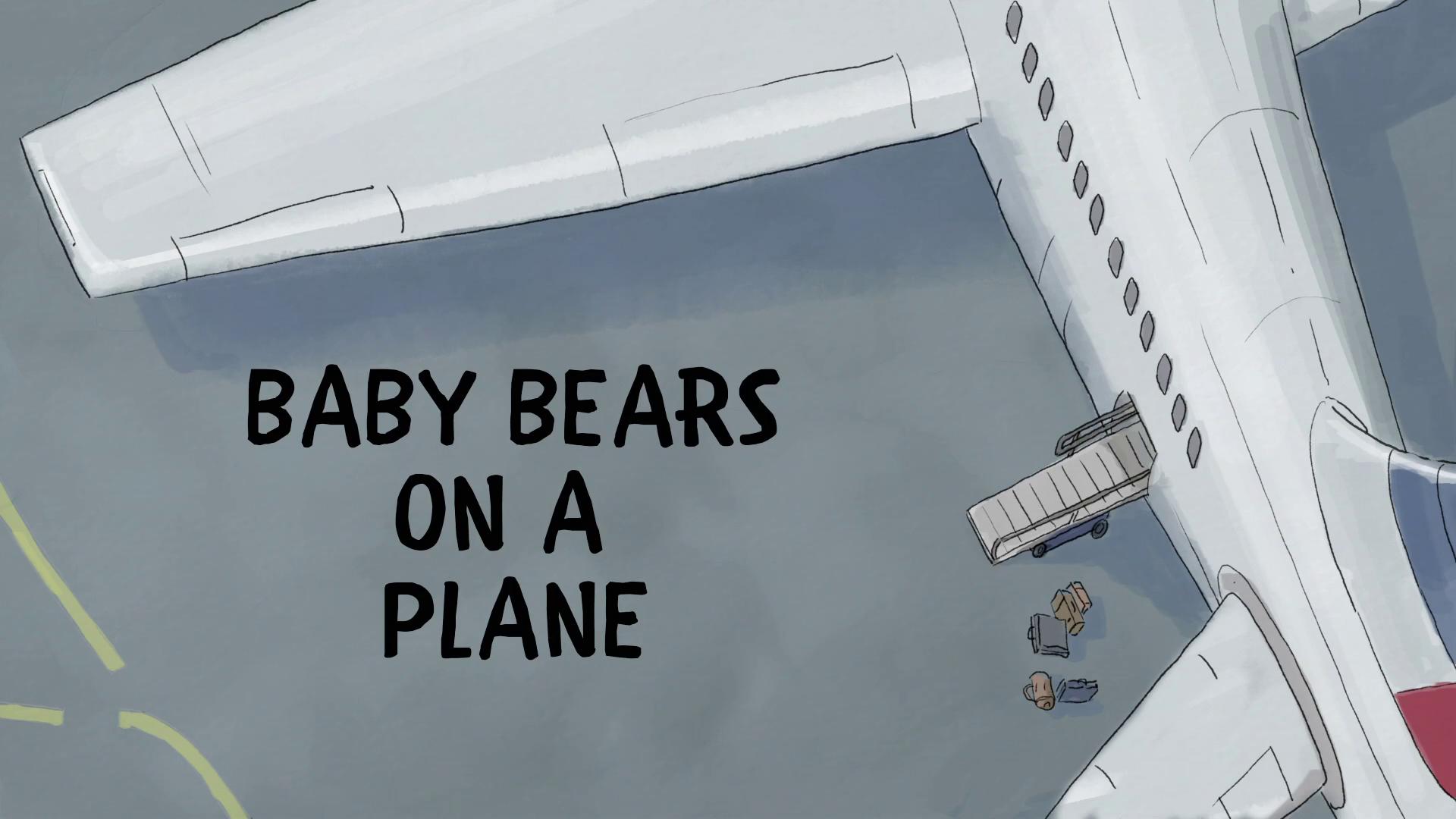 Ursos sem Curso - Ursos Bebês no Avião