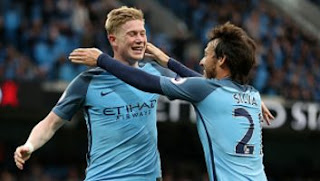 Manchester City vs West Bromwich Albion 3-1 EPL 16/5/2017