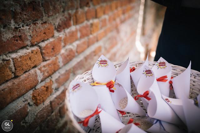 Come confezionare conetti riso per matrimonio