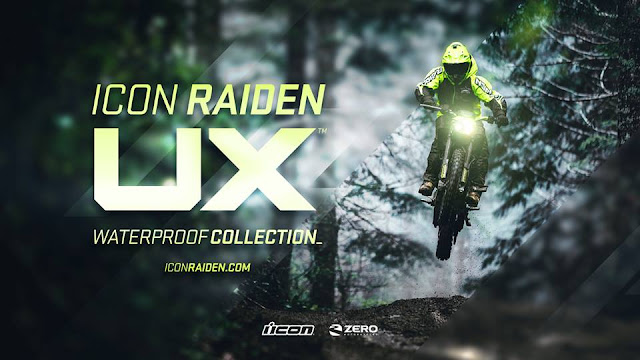 Icon Raiden UX Zero Electric Motorcycle