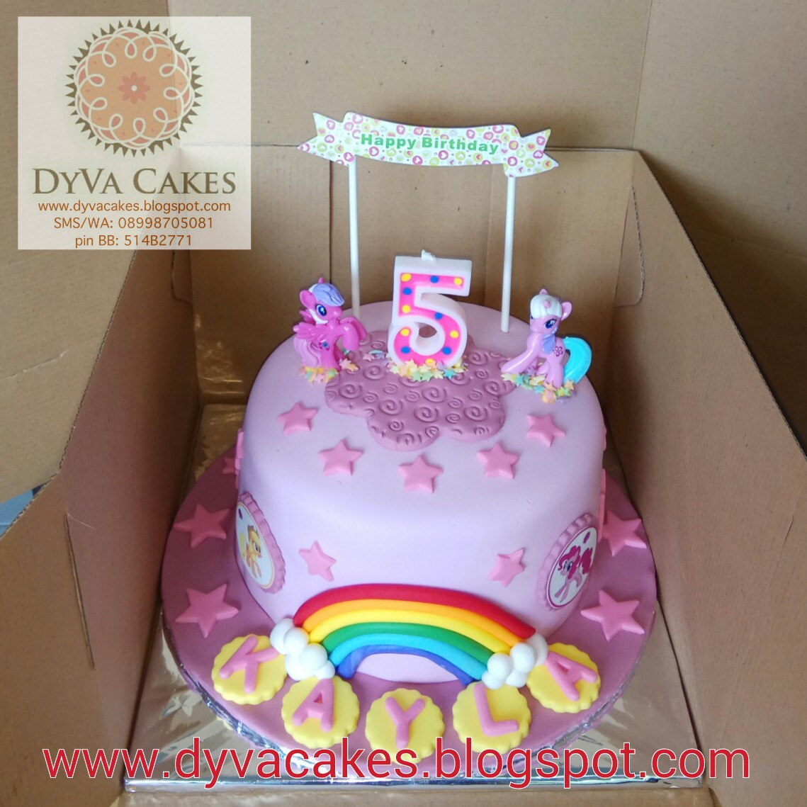 DyVa Cakes Little Pony Birthday Cake