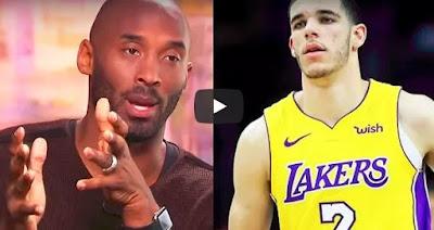 Lonzo Ball Needs to Get Better Now - Kobe Bryant