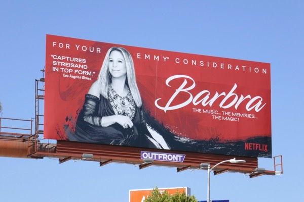 Barbra Music Memries Music Emmy FYC billboard