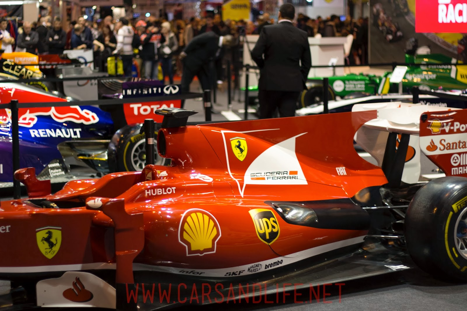 Autosport International 2014 #asi14 | Formula 1 Cars