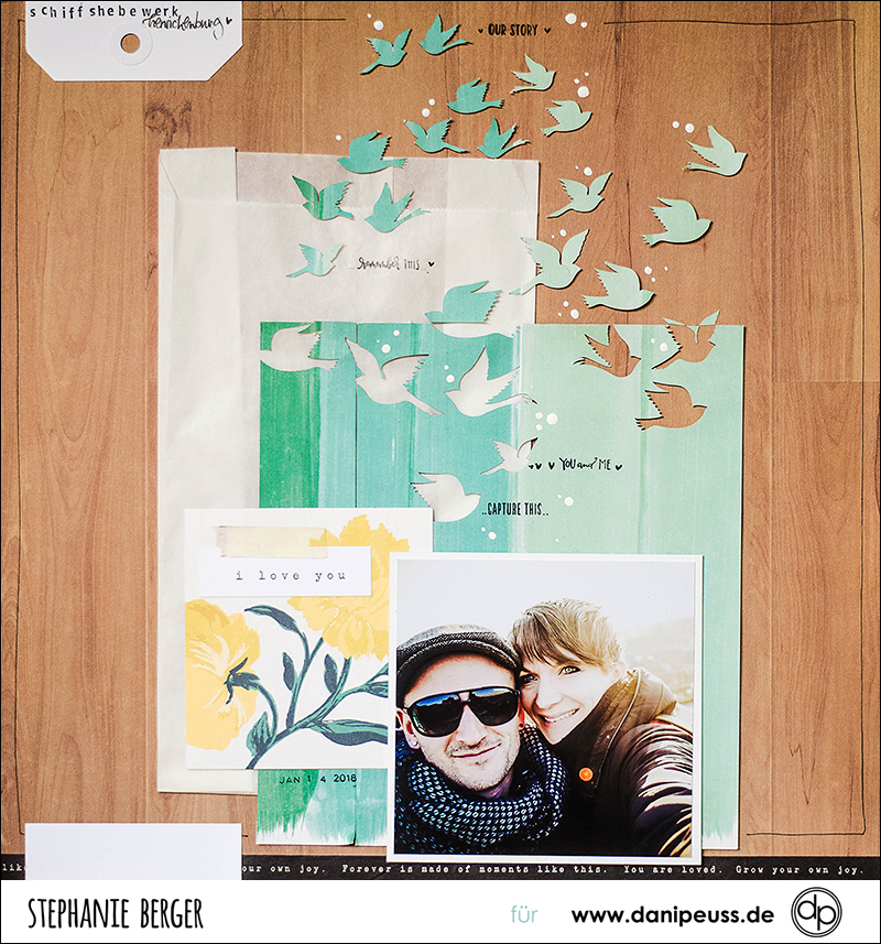 Stephanie Berger - Scrapbooking - Dani Peuss - Birds