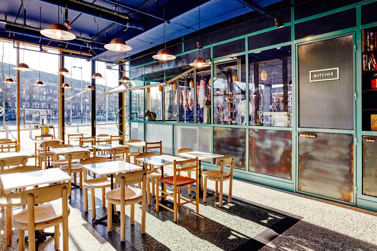 Interior Design Studio Amsterdam imagine these: restaurant interior design | the roast room