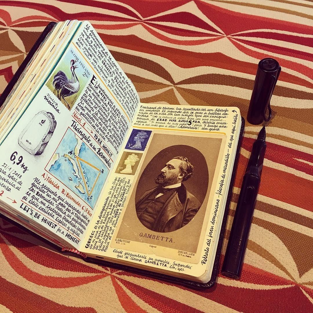 01-A-vintage-touch-Jose-Naranja-Urban-Drawings-Travel-Journal-www-designstack-co
