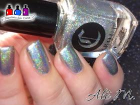 Cirque Colors, Sani, Silver, Holografico, Smoky Quartz, Dioptase, Marble, Alê M.