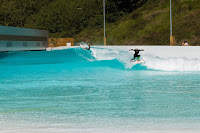 Mateus Herdy with Adur Amatrain at Wavegarden Pacotwo