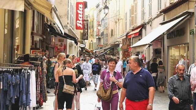 Rue Meynadier em Cannes
