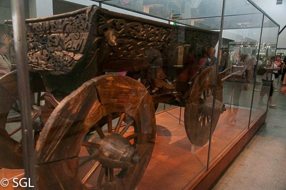 Carro del Museo de los Vikingos en Oslo