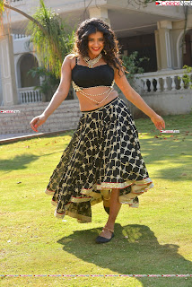 Hebah Patel in Spicy Black Choli and Ghagra HD Pics  017.jpg