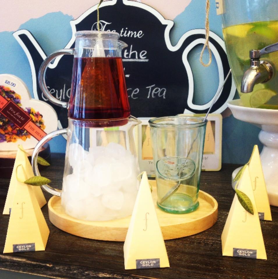 Ceylon gold iced tea - Cup Aberdeen