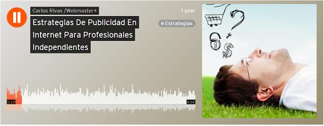 Publicidad Web para Profesionales Independiente