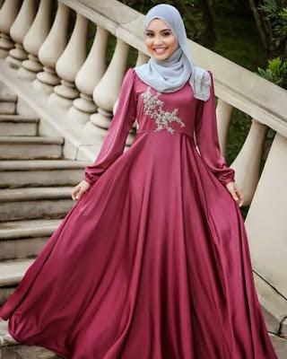 Gaun Pesta Muslim9