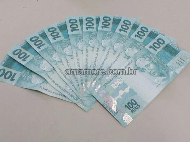 Moeda falsa: Mil reais em notas de 100 são apreendidas em Guajará-Mirim