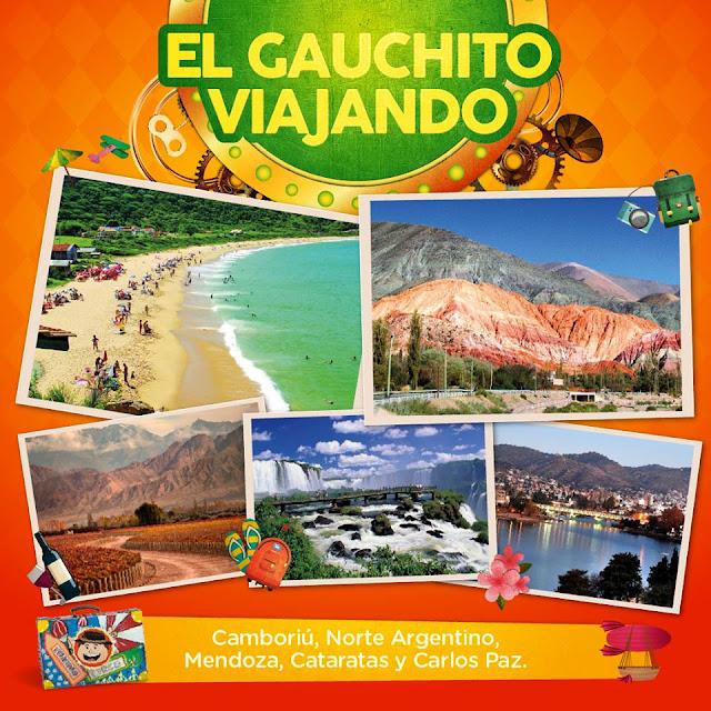 Ya están los ganadores El Gauchito Viajando del mes de Mayo