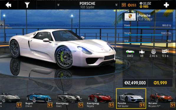 Game Balap Mobil Android yang Bisa Modifikasi Nitro Nation 6 Mod Apk