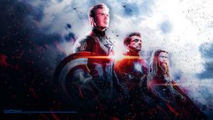 Avengers ENDGAME Trinity Wallpaper HD