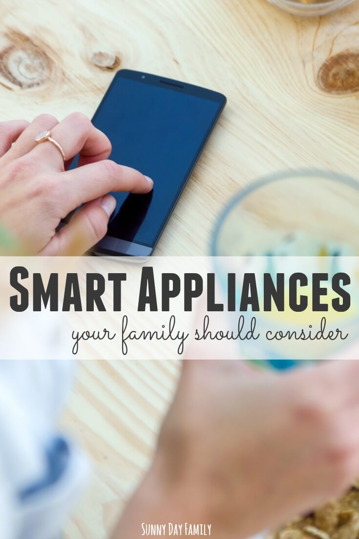 Looking for ways to save time, money, and energy in your home? Look at your appliances! These smart appliance options are high on my list of things to consider for my family. A vacuum I can control with my phone? Yes please!