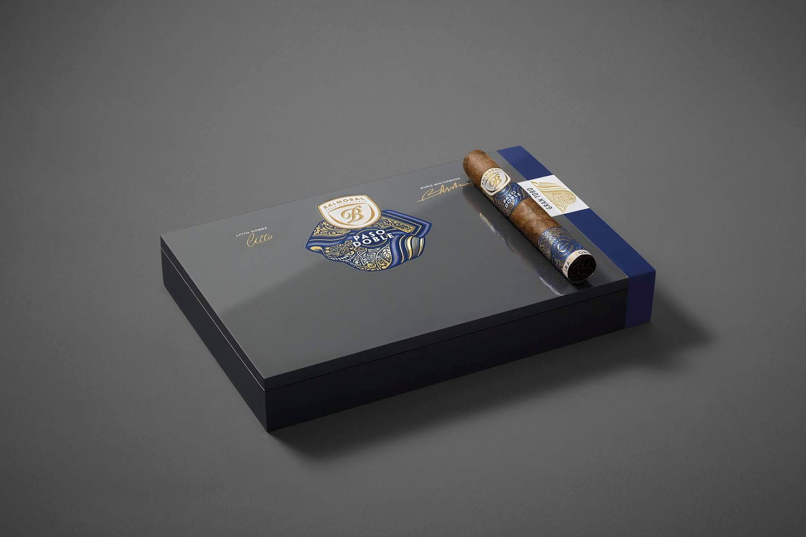Balmoral Serie Signaturas - Paso Doble on Packaging of the