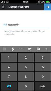 cara mengganti password instagram dengan SMS