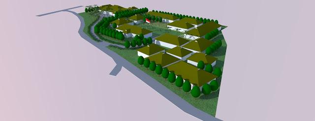 site plan sekolah sma