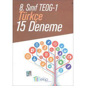 Ekip 8. Sınıf TEOG 1 Türkçe 15 Deneme