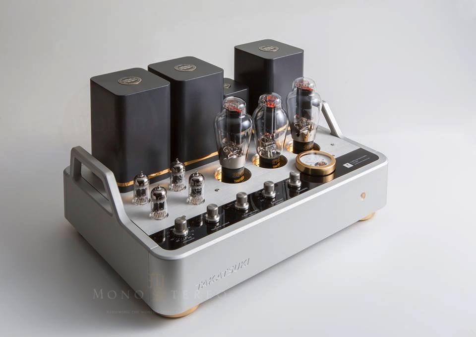 Mono and Stereo High-End Audio Magazine: Takatsuki TA-S01 300B amplifier