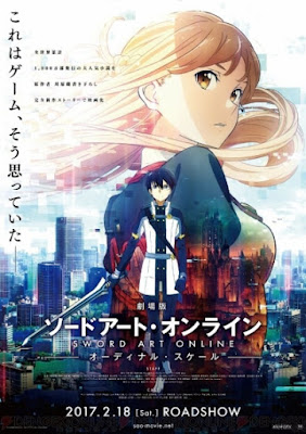 "Sword Art Online Ordinal Scale"": El modelo de servidor ""Ordinal Scale"