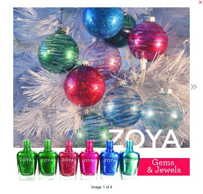 Zoya Nail Polish Blog: Zoya Nail Polish Ornaments For The