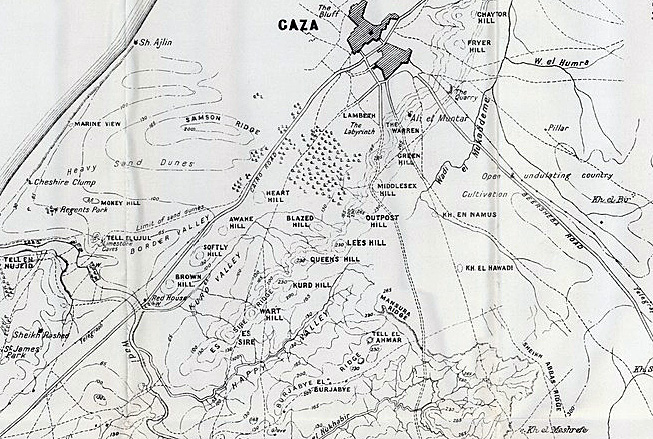 Bedfordshire at War: The Second Battle of Gaza Ends