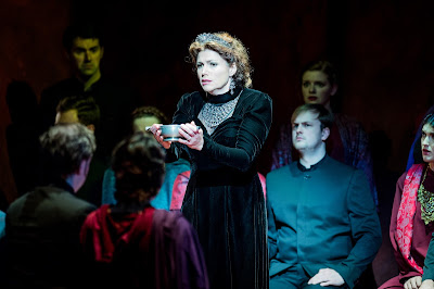 Kate Ladner as Lady Macbeth in Verdi's Macbeth at the Buxton Festival 2017 (photo Robert Workman)