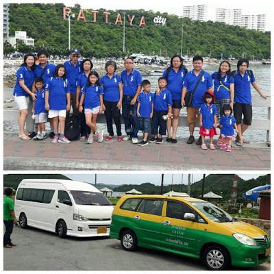 sewa mobil van murah Bangkok Pattaya
