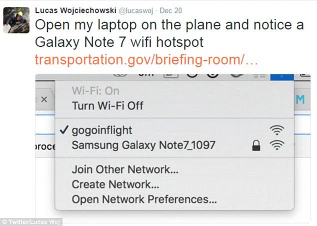 Impiden despegue cuando sospechan que hay un galaxy note 7
