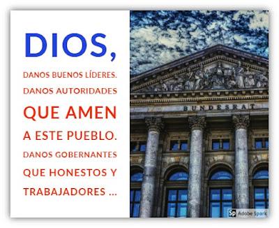 Para Orar por Nuestras Autoridades