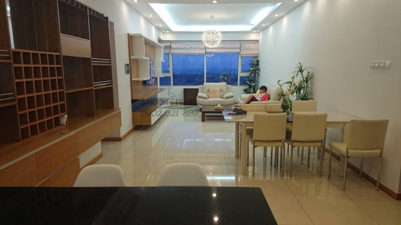 Sapphire 1 Saigon Pearl cho thuê căn hộ 133m2