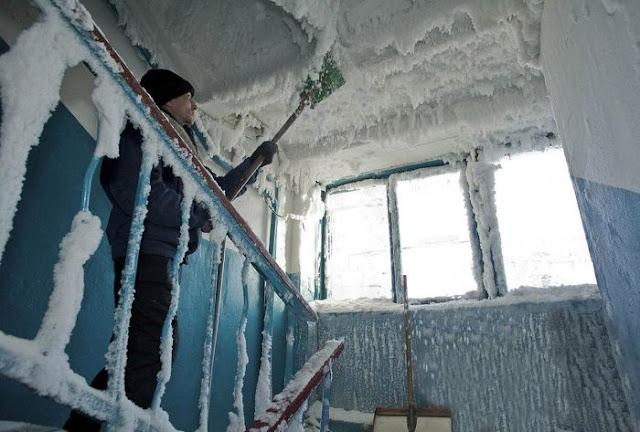 Το λες και κρύο: -34 βαθμούς Κελσίου στο Καζακστάν