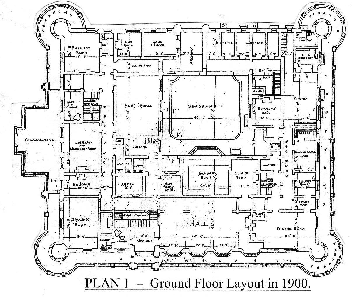 100 Scottish Castle Floor Plans House