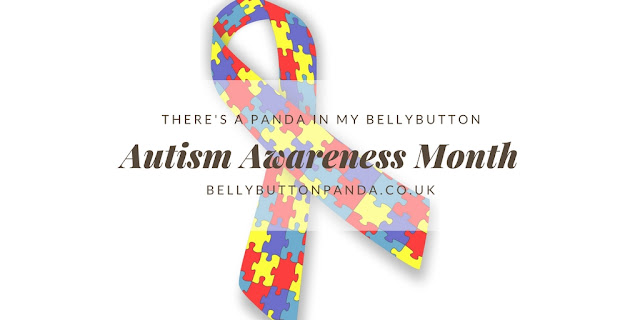 April is Autism Awareness Month. www.bellybuttonpanda.co.uk
