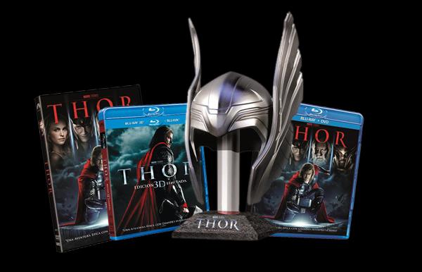 Edición especial THOR en DVD y Blu-ray