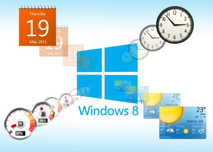 Desktop Gadgets and Sidebar for Windows 8/8 1 - Tips and Tricks