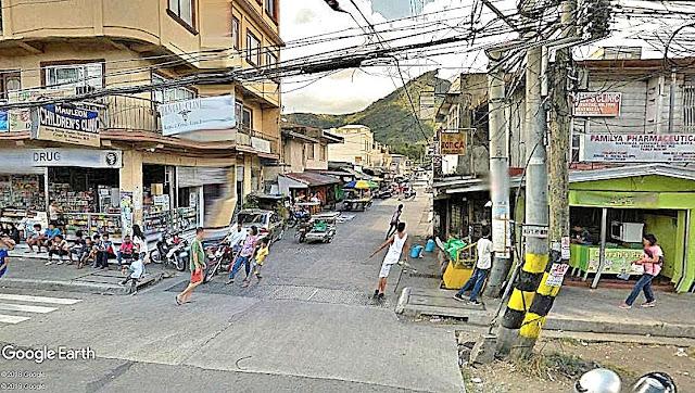 Poblacion Cuenca.  Image source:  Google Earth Street View.