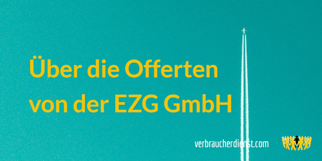 Titel: Offerte von der EZG GmbH für die Veröffentlichung elektronischer Firmendaten