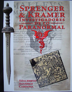 Portada del libro Sprenger & Kramer, investigadores de lo paranormal, de Adalberto Agudelo Cardona