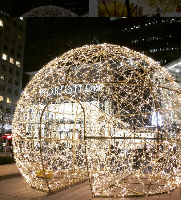 Pix n prose december 2016 i saw that magical lit up ball and sent a link to danica we need to do a photoshoot in this cinderella sphere in my wedding dress solutioingenieria Choice Image